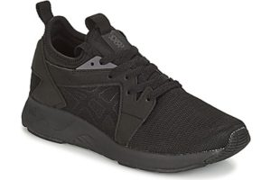 asics gel lyte v mens black black trainers mens
