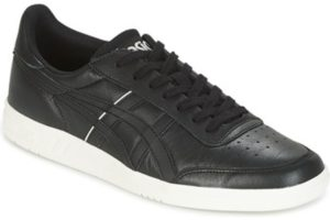 asics gel vickka mens black black trainers mens