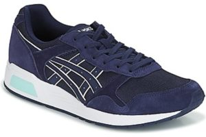 asics lyte trainer mens blue blue trainers mens