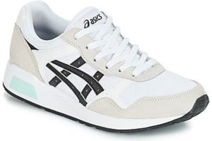 asics lyte trainer mens white white trainers mens