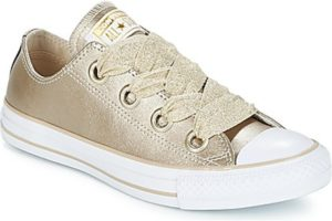 converse all star ox womens gold gold trainers womens