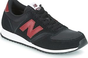 new balance 420 mens black black trainers mens