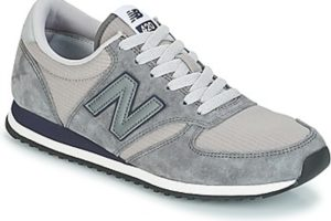 new balance 420 mens grey grey trainers mens