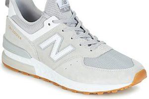 new balance 574 mens grey grey trainers mens