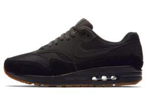 nike-air max 1-mens-black-ah8145-007-mens-black-trainers