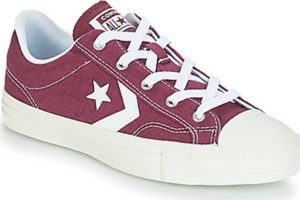 converse star player mens red red trainers mens