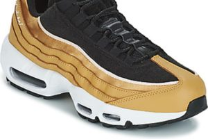 nike air max 95 womens black black trainers womens