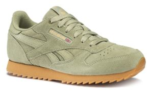 reebok-classic leather ripple-Kids-green-CN5170-green-trainers-boys