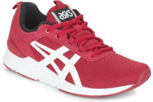asics gel lyte mens red red trainers mens