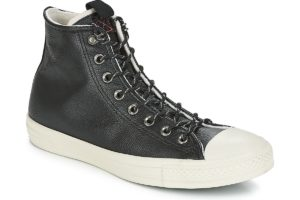 converse all star high mens black black trainers mens