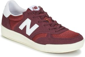new balance 300 mens red red trainers mens