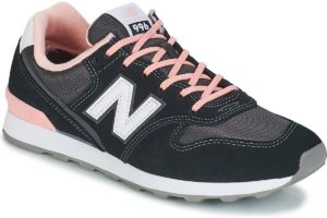 new balance 996 womens black black trainers womens