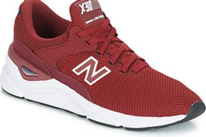 new balance overig mens red red trainers mens