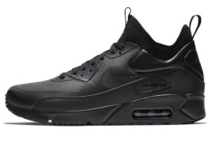 nike-air max 90-mens-black-924458-004-mens-black-trainers