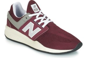 new balance 247 mens red red trainers mens
