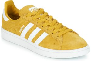 adidas campus mens yellow yellow trainers mens