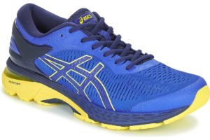 asics gel kayano mens blue blue trainers mens