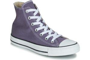 converse all star high womens purple purple trainers womens