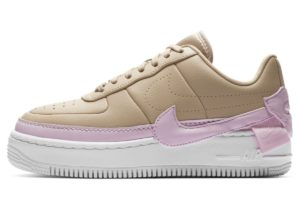 nike-air force 1-womens-brown-ao1220-202-womens-brown-trainers