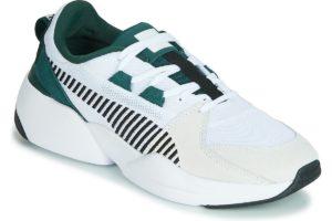 Puma Zeta Mens White 369347 03 White Trainers Mens
