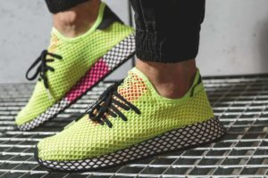 Adidas Deerupt Mens Yellow Cg5943 Yellow Trainers Mens