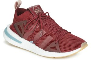 adidas arkyn womens red red trainers womens