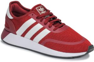 adidas n-5923 mens red red trainers mens