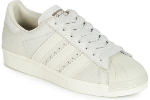 adidas superstar womens beige beige trainers womens