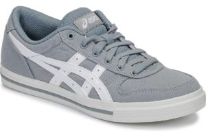 asics aaron mens grey grey trainers mens