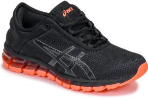 asics gel quantum womens black black trainers womens