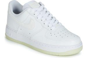 nike air force 1 womens white white trainers womens