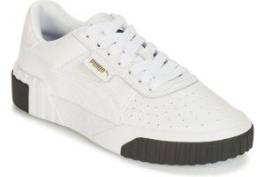 puma cali womens white white trainers womens
