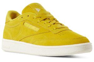 reebok-club c 85-Women-yellow-DV3723-yellow-trainers-womens