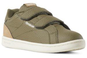 reebok-royal comp cln 2v-Kids-green-DV4151-green-trainers-boys