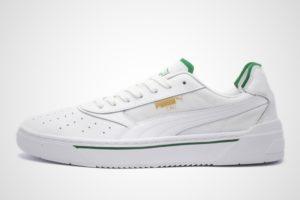 Puma Cali Mens White 369337 02 White Trainers Mens