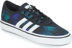 adidas adiease mens black black trainers mens