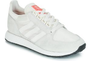 adidas forest grove womens beige beige trainers womens