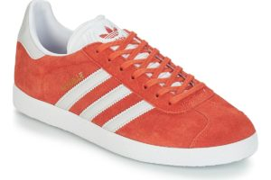 adidas gazelle mens orange orange trainers mens