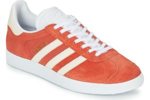 adidas gazelle womens orange orange trainers womens