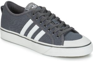 adidas nizza mens grey grey trainers mens