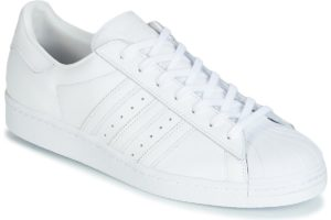 adidas superstar mens white white trainers mens