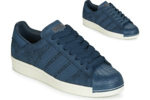 adidas superstar womens blue blue trainers womens