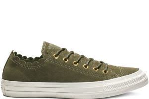 converse-all star ox-womens-green-563415C-green-sneakers-womens