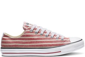 converse-all star ox-womens-red-164005C-red-sneakers-womens