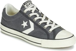 converse star player mens grey grey trainers mens