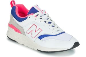 new balance 997 mens white white trainers mens