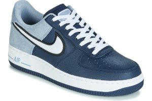 nike air force 1 mens blue blue trainers mens