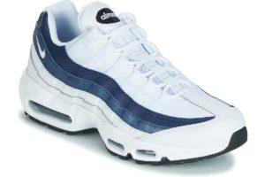 nike air max 95 mens white white trainers mens