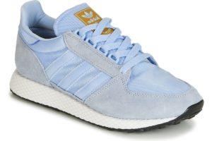 adidas forest grove womens blue blue trainers womens