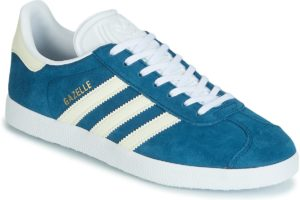 adidas gazelle womens blue blue trainers womens